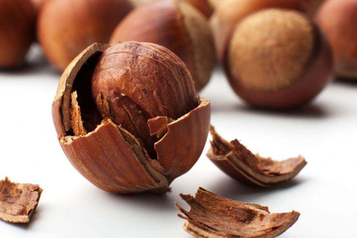 Nødder – især de hårde typer – egner sig ikke specielt godt til blenderen, hvis blade kan blive sløve. Det er bedre at give dem en tur i morteren. Kilde: Reader's Digest. Arkivfoto.