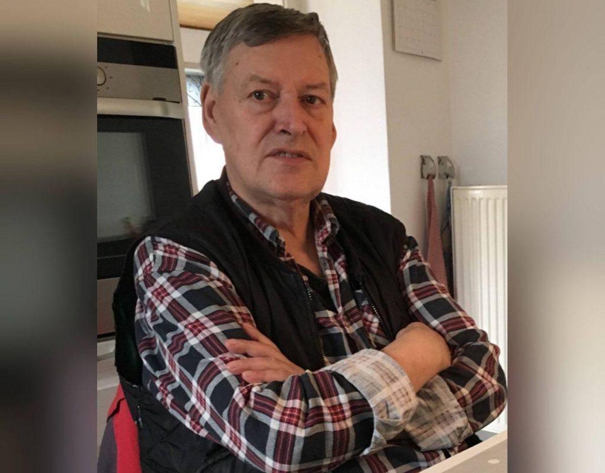 I Ruds Vedby brændte 68-årige Kiehn Georg Andersens hus ned. Han blev siden fundet dræbt i en grusgrav. Foto: Politi