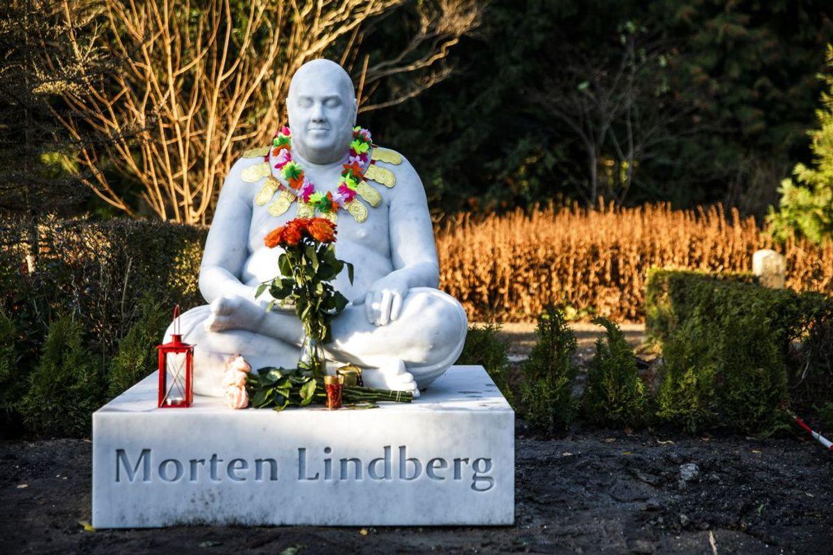 Morten Lindberg alias Master Fatman har fået gravmæle på Assistens Kirkegaard i København. (Foto: Ólafur Steinar Rye Gestsson/Ritzau Scanpix)