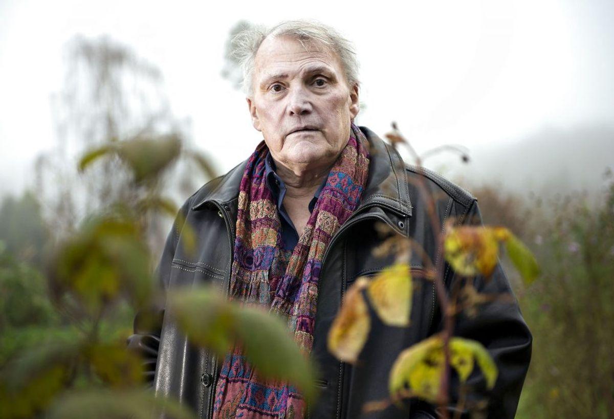 Ole Henrik Laub, forfatter, døde den 22. oktober. Foto: Henning Bagger/BAG/Ritzau Scanpix.