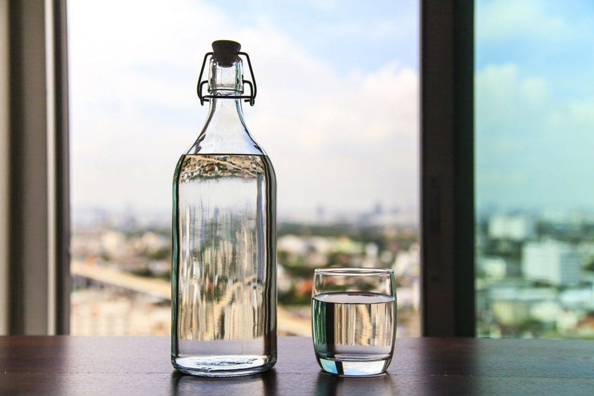 Din vandflaske skal også gøres rent engang imellem. Kilde: Reader's Digest. Foto: Scanpix.
