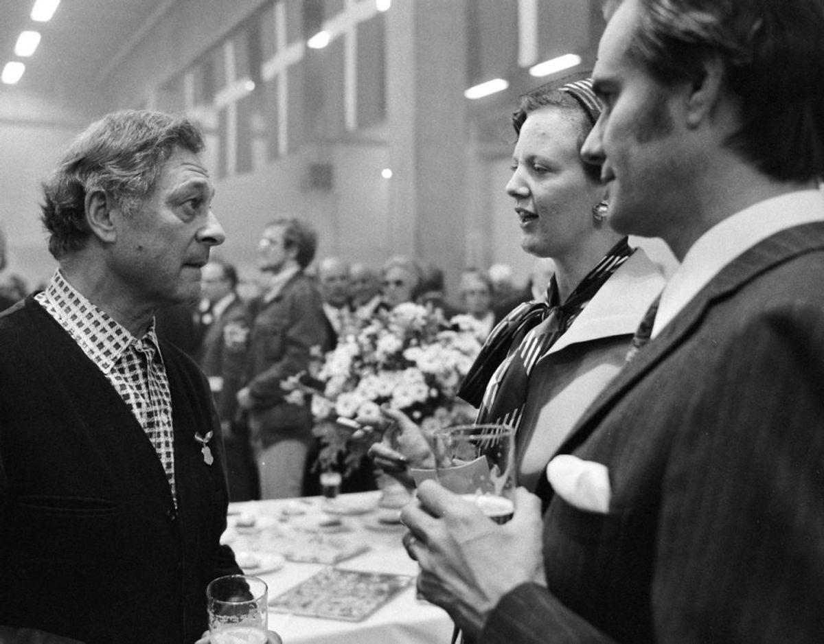 I 1956 blev filmen Qivitoq med Peter Reichhardt nomineret. Filmen er instrueret af Erik Balling. Kilde: Dansk Filminstitut Foto: Scanpix