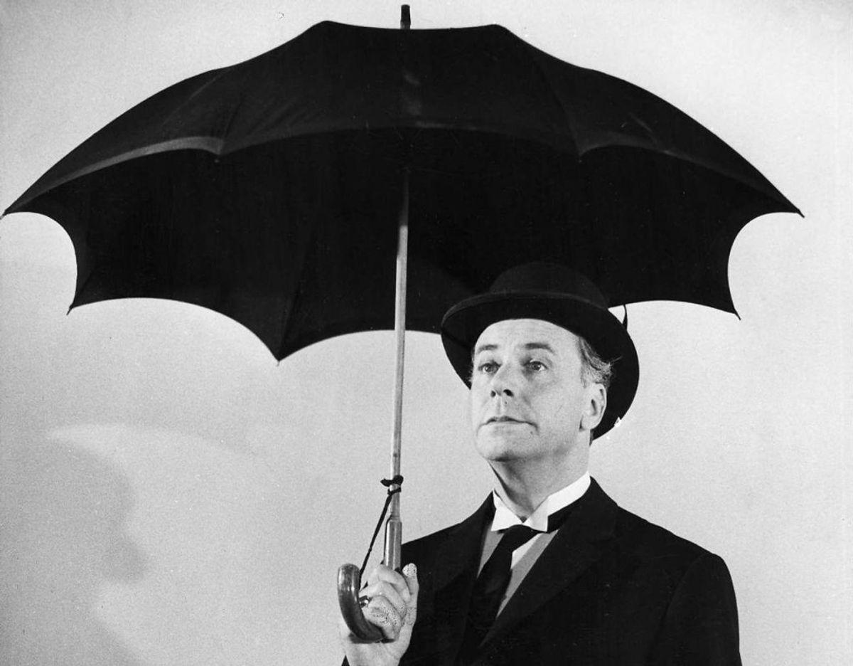 I 1961 kunne Ebbe Rode blandt andet glæde sig over at hans portrættering af kammertjeneren i filmen Harry og Kammertjeneren blev hædret. Filmen, der blev instrueret af Bent Christensen, blev nomineret til en Oscar. Kilde: Dansk Filminstitut Foto: Scanpix
