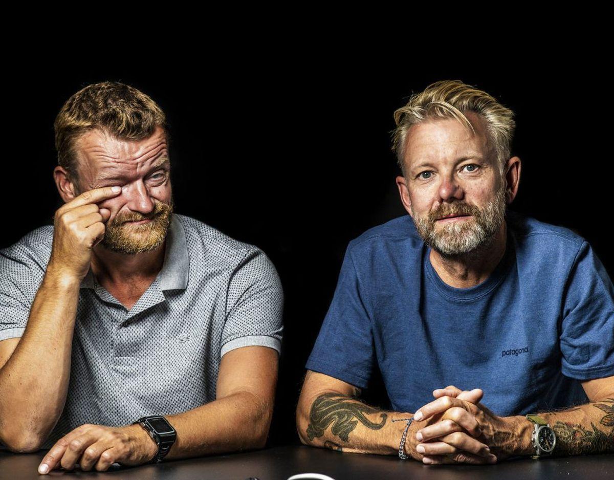 Casper og Frank skal ud på et sidste eventyr i den nye Klovn-film. Foto: Scanpix