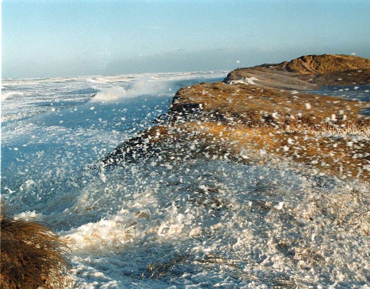 Store vandmasser nærmer sig. KLIK VIDERE OG SE HVOR OG HVORNÅR. Foto: Scanpix