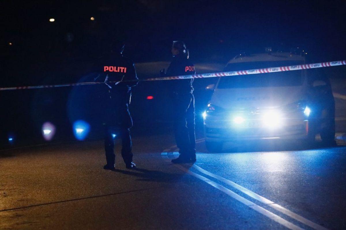 En 23-årig mand blev dræbt ved knivstikkeriet. KLIK OG SE FLERE BILLEDER. Foto: Presse-fotos.dk