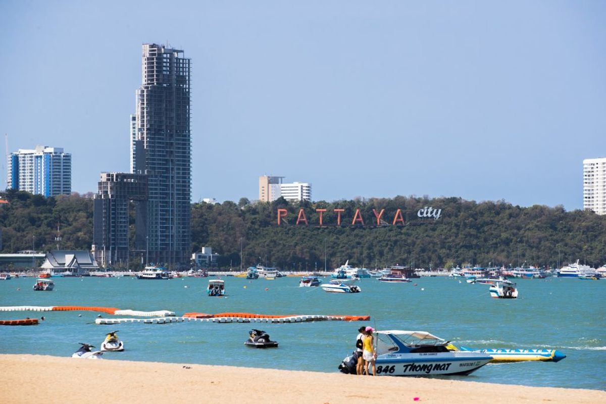 Danskeren omkom i den kendte ferieby Pattaya. Klik for flere billeder. Foto: Rasmus Skaftved
