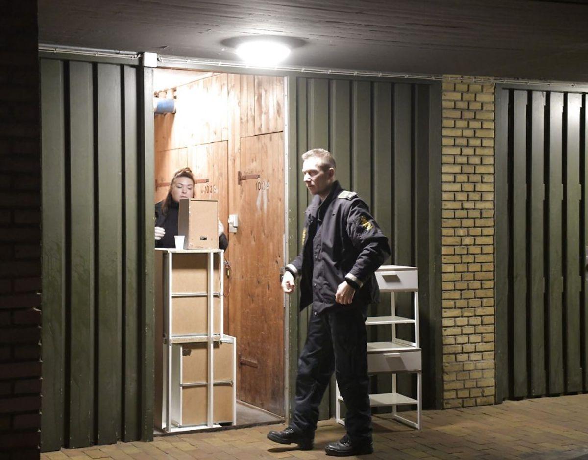 Onsdag foretog dansk politi flere ransagninger på flere adresser landet over i forbindelse med planlægning af terror. Foto: Nils Meilvang/Ritzau Scanpix