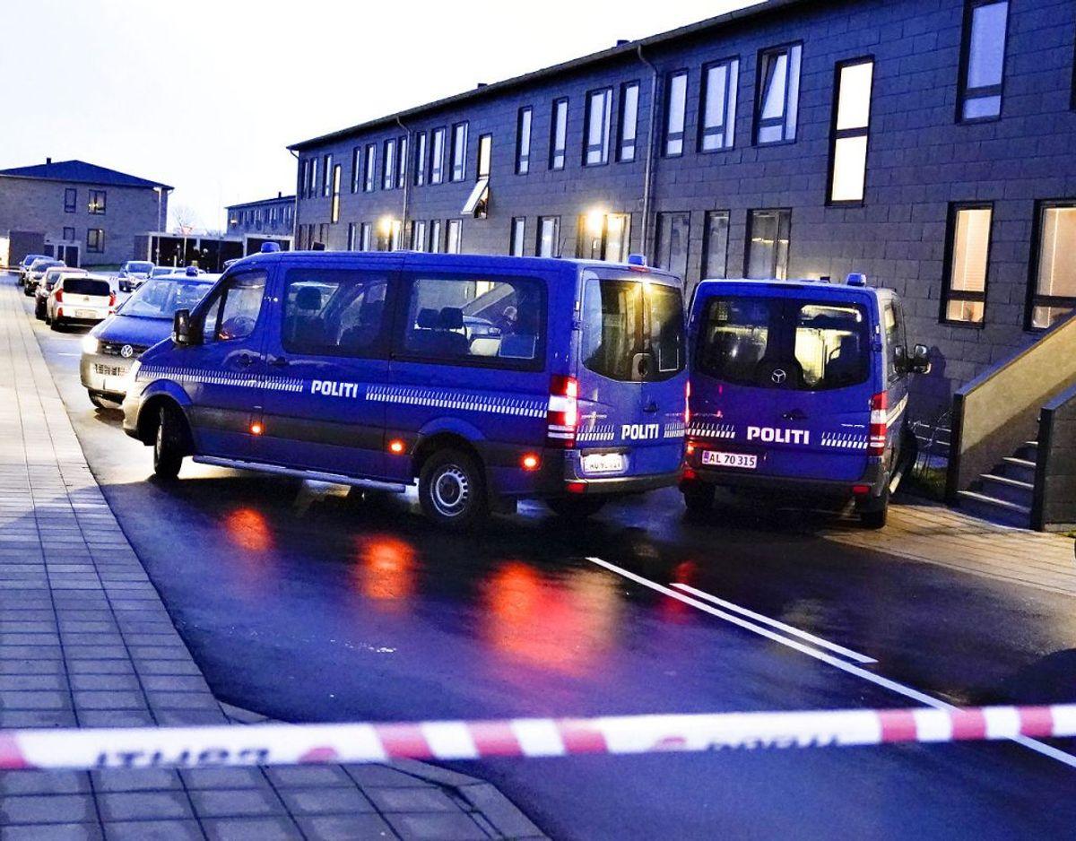 Onsdag foretog dansk politi flere ransagninger på flere adresser landet over i forbindelse med planlægning af terror. Foto: Henning Bagger/Ritzau Scanpix