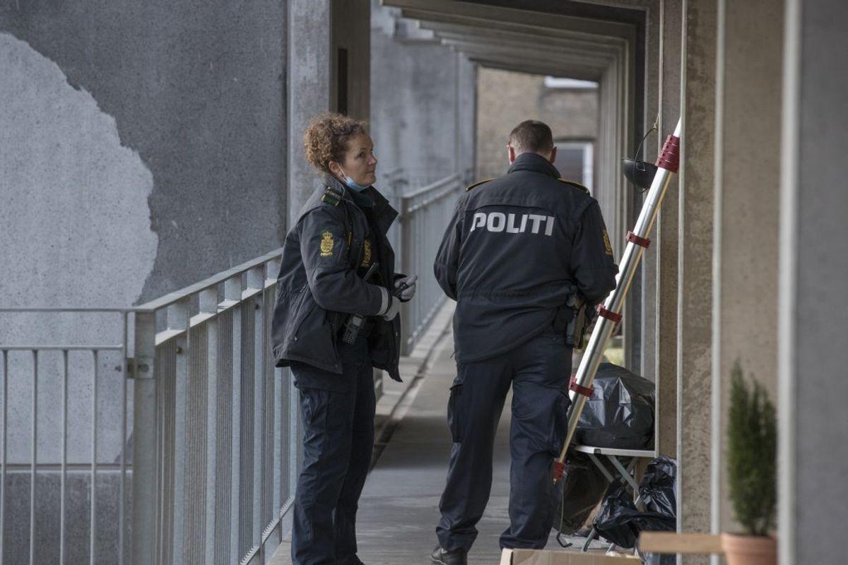 Også i Aalborg har der været aktion. Her i Stormgade. Foto: Rasmus Skaftved
