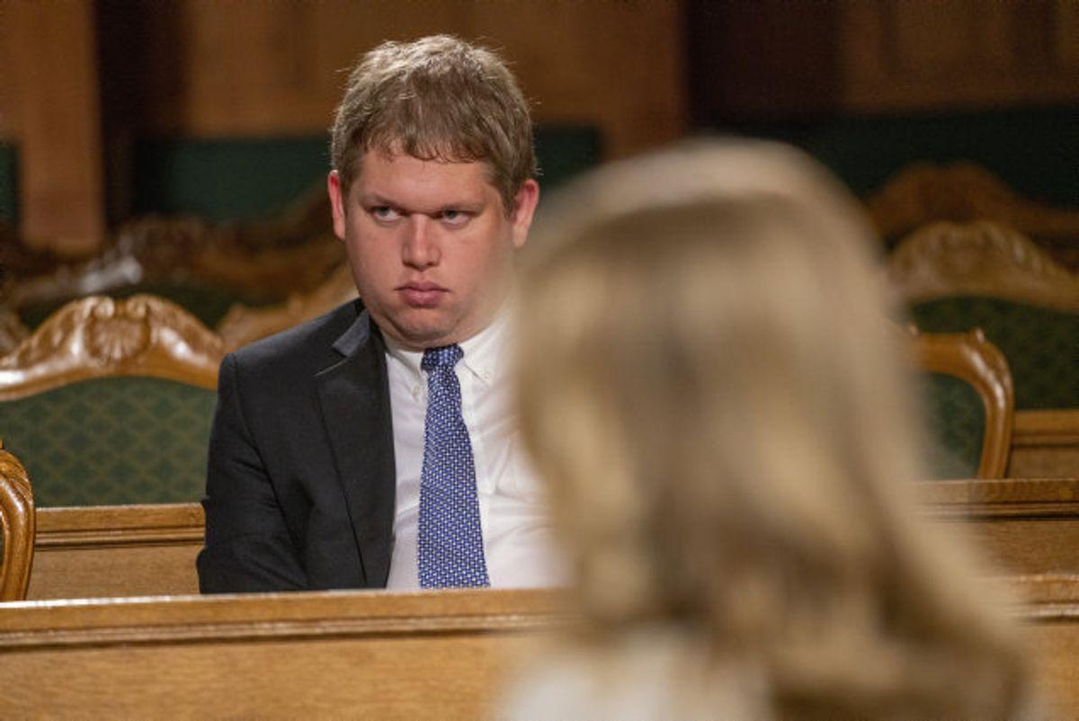 Stram Kurs med Rasmus Paludan i spidsen stillede op til folketingsvalget i juni, men opnåede ikke to procent af stemmerne, som der kræves. (Arkivfoto). Foto: Søren Bidstrup/Scanpix