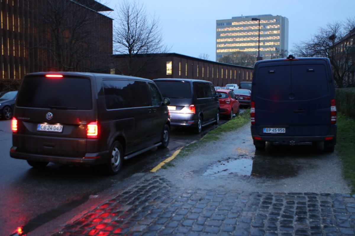Her i Valby. Foto: Presse-fotos.dk