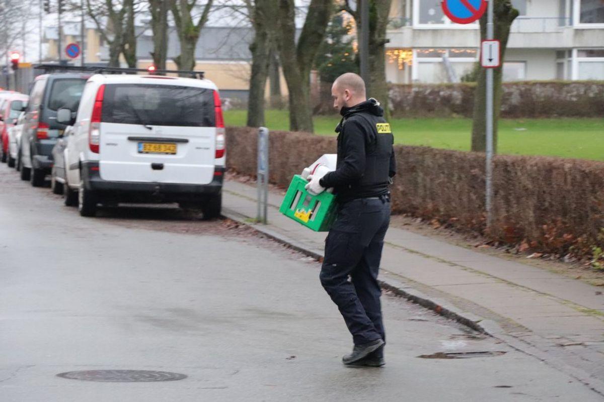 Politiet har blandt andet gennemført aktioner i Herlev og Valby. KLIK FOR FLERE BILLEDER. Foto: Presse-fotos.dk