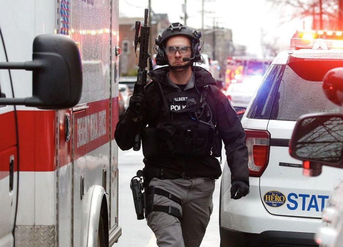 Voldsomme billeder fra USA. Klik og se flere. Foto: Scanpix