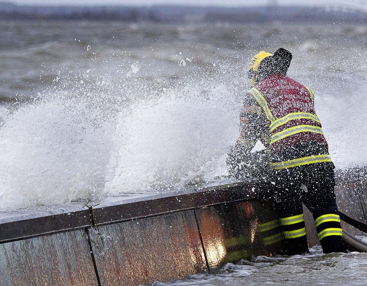 Byer omkring Limfjorden skal forberede sig på forhøjet vandstand. Arkivfoto: Scanpix.