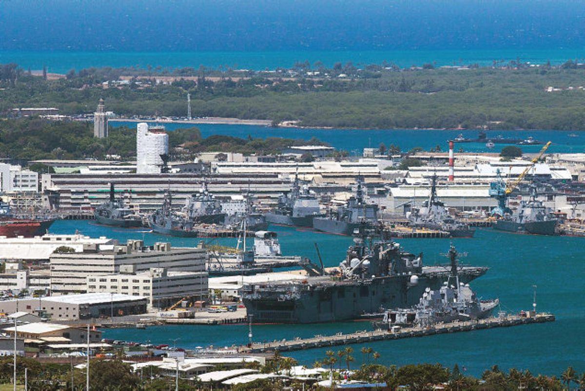 Fredag er det 78 år siden, at angrebet på Pearl Harbor blev indledt tidligt om morgenen den 7. december 1941, da Japan angreb den amerikanske stillehavsflåde på Hawaii. (Arkivfoto) Foto: Kent Nishimura/AFP