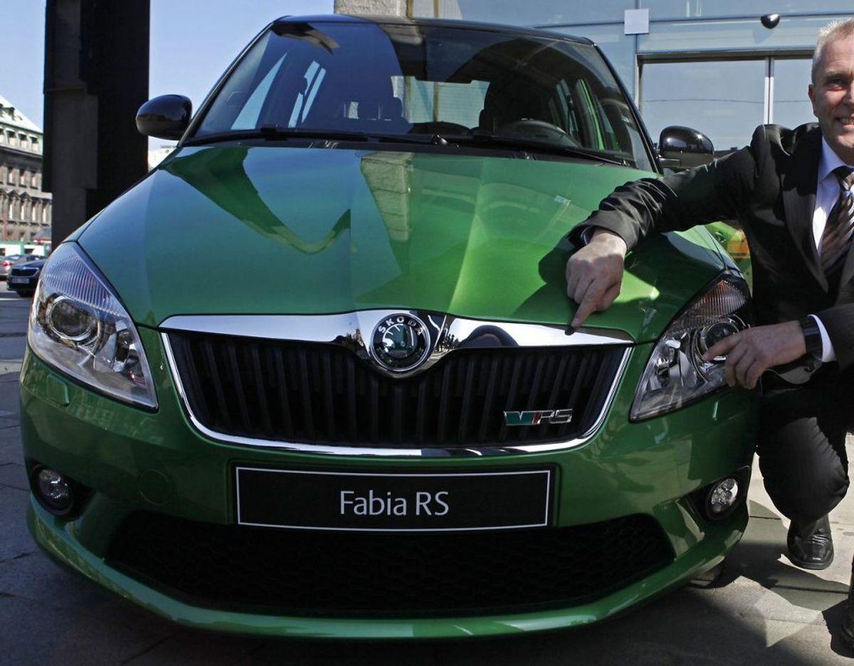12: Skoda Fabia – 347 solgte. Foto: Scanpix