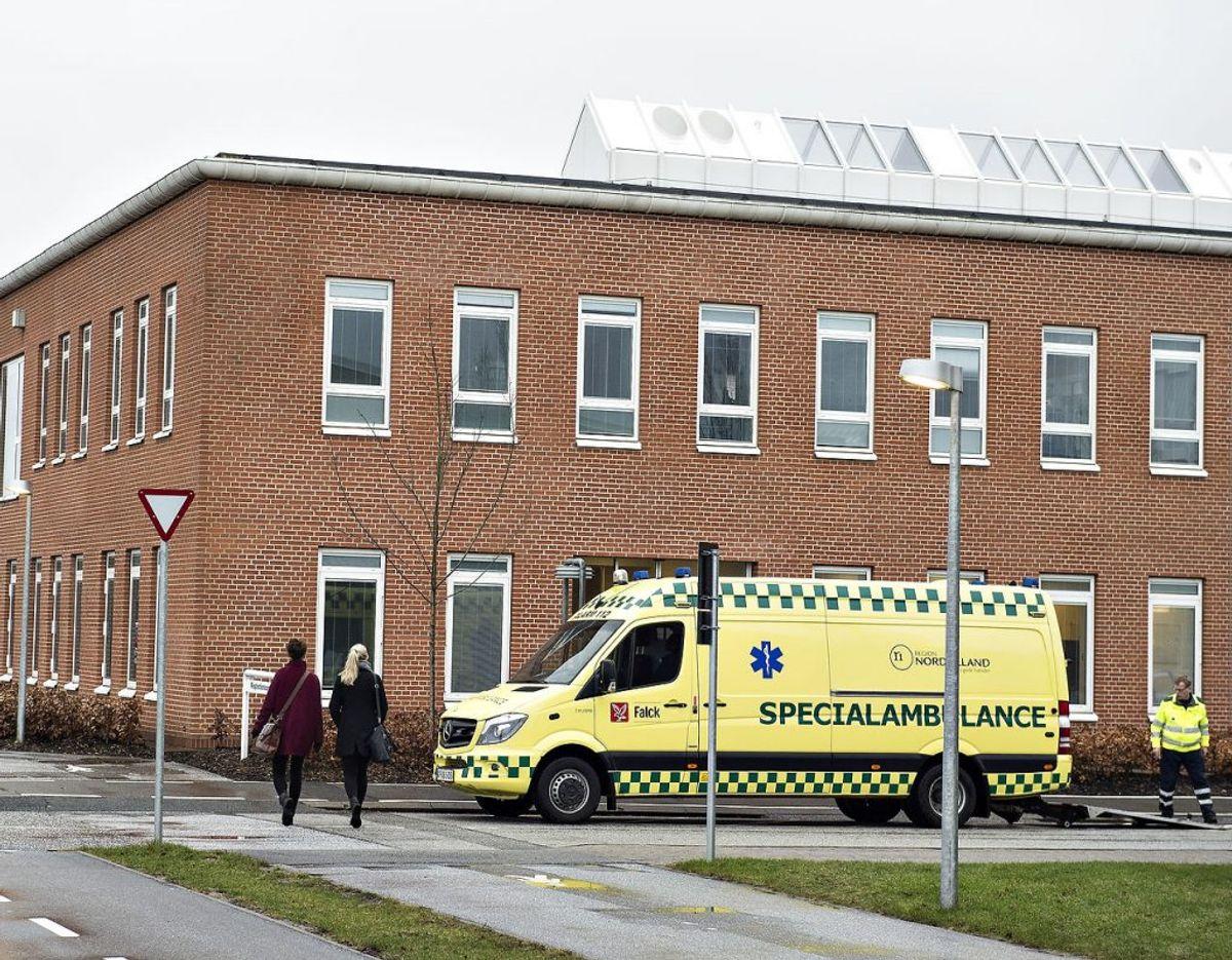 En etårig pige døde på Aarhus Universitetshospital. Arkivfoto: Scanpix