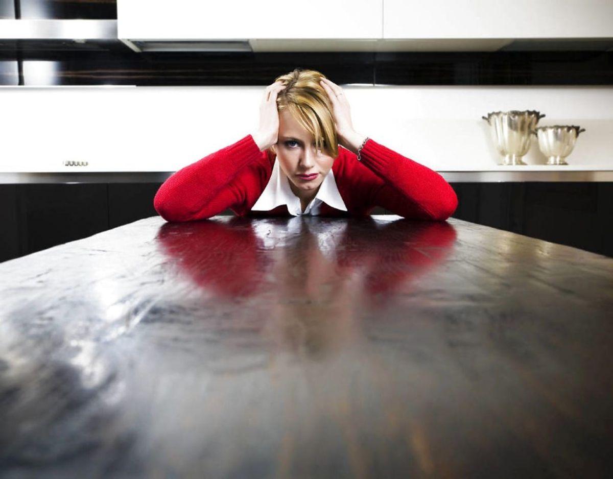 Derudover har man også hovedpine, men symptomerne findes endnu værre. Foto: Scanpix