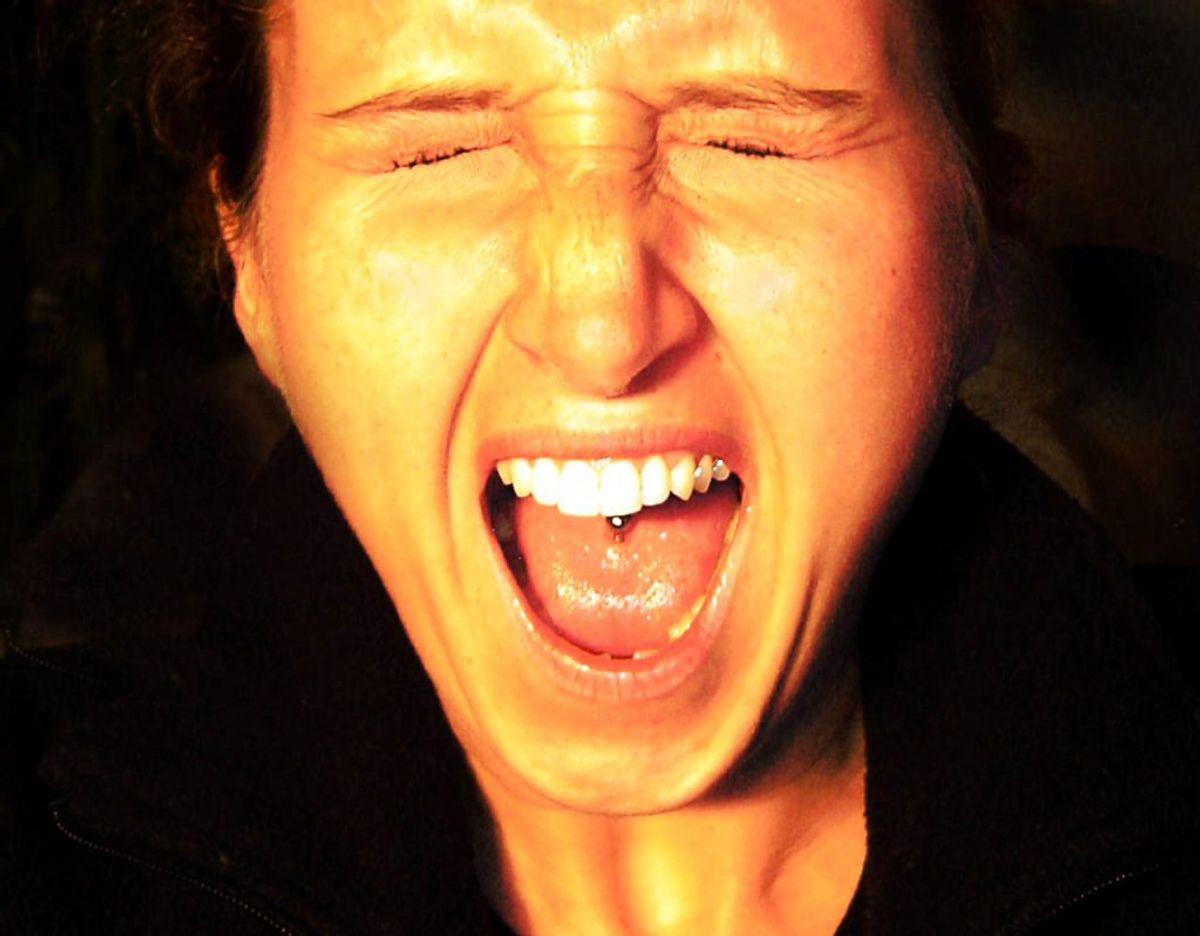 Man kan også ende med at gå helt i chok. Foto: Scanpix