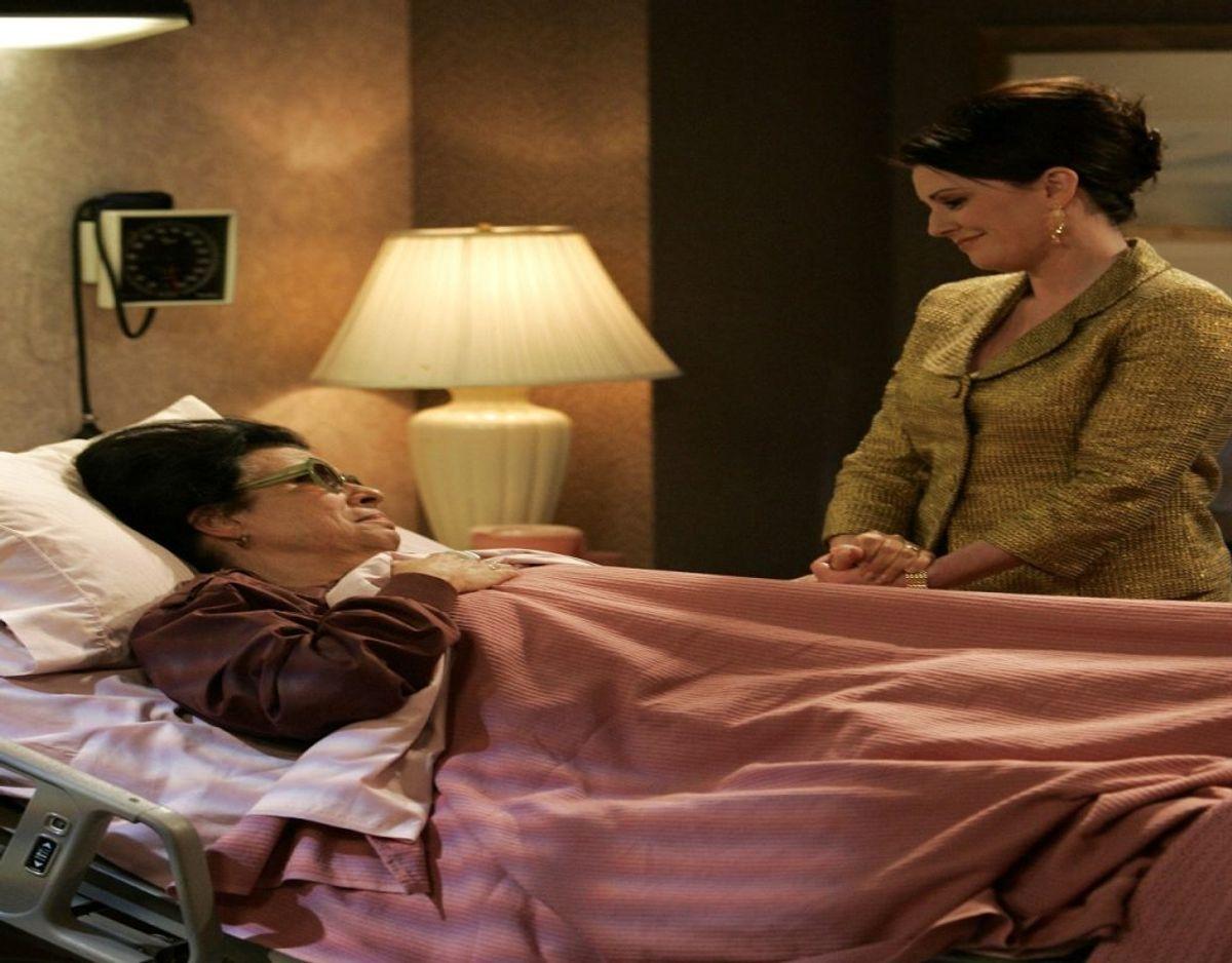 I Will & Grace spillede hun Rosario, der var stuepige for Graces veninde Karen Walker. Foto: Scanpix/ NBC