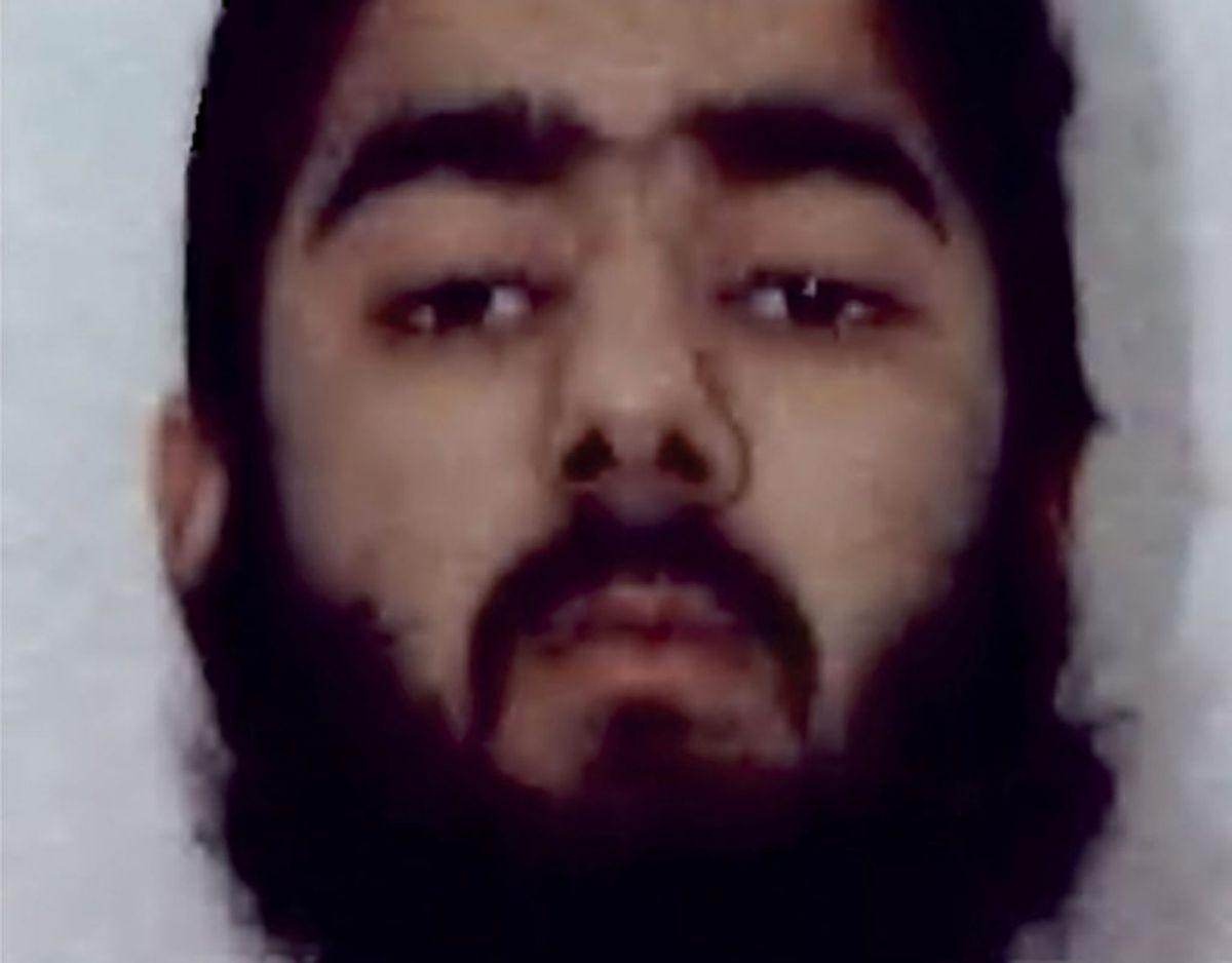 Det var ifølge politiet denne mand, 28-årige Usman Khan, der stod bag. KLIK FOR MERE. Foto: Scanpix