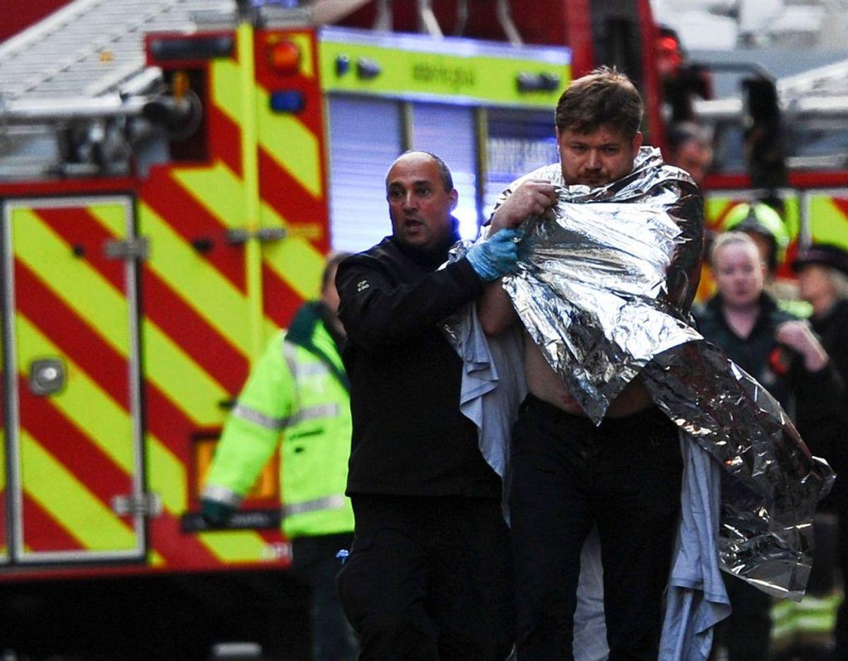 To blev dræbt og tre blev såret i angrebet. Foto: Scanpix