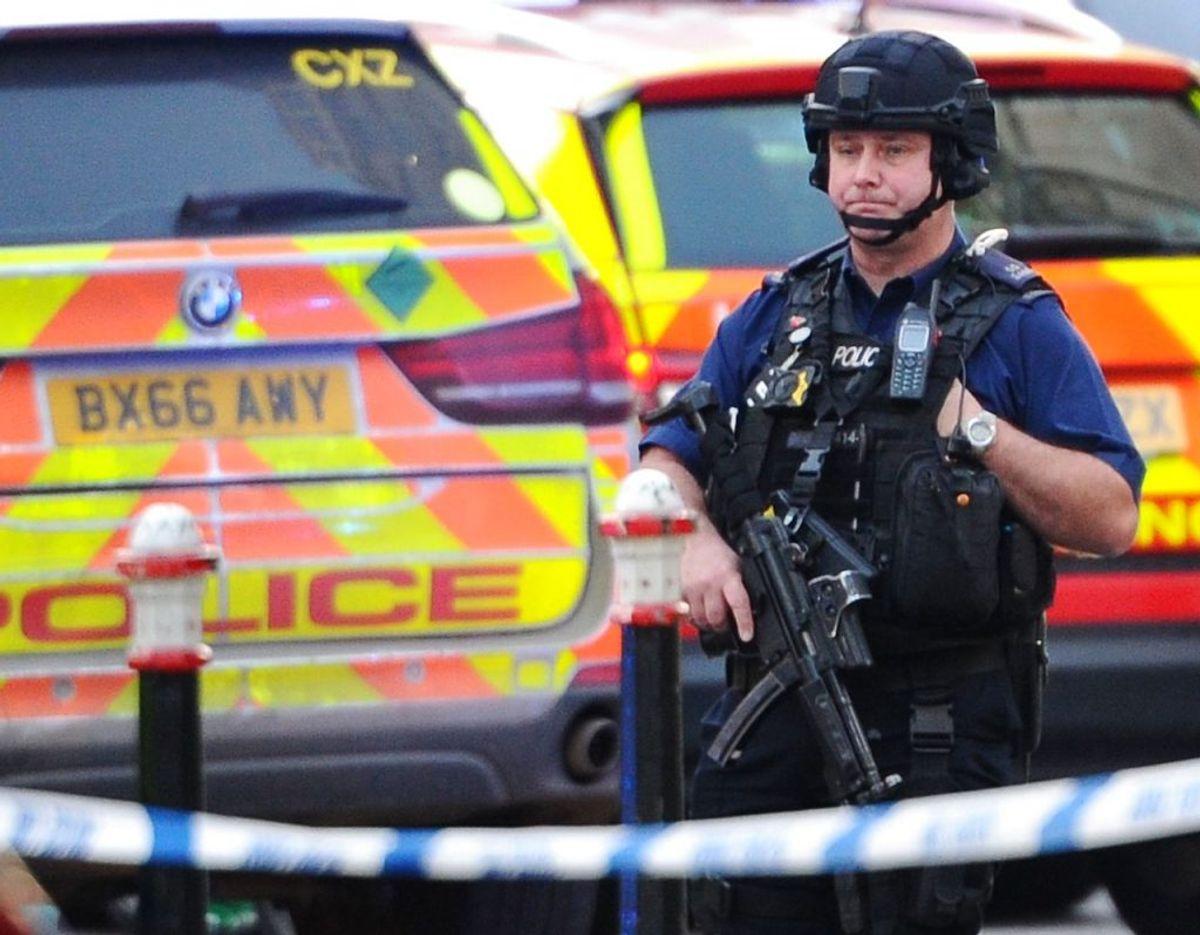 Der efterfølgende blev skudt og dræbt af politiet. Foto: Scanpix