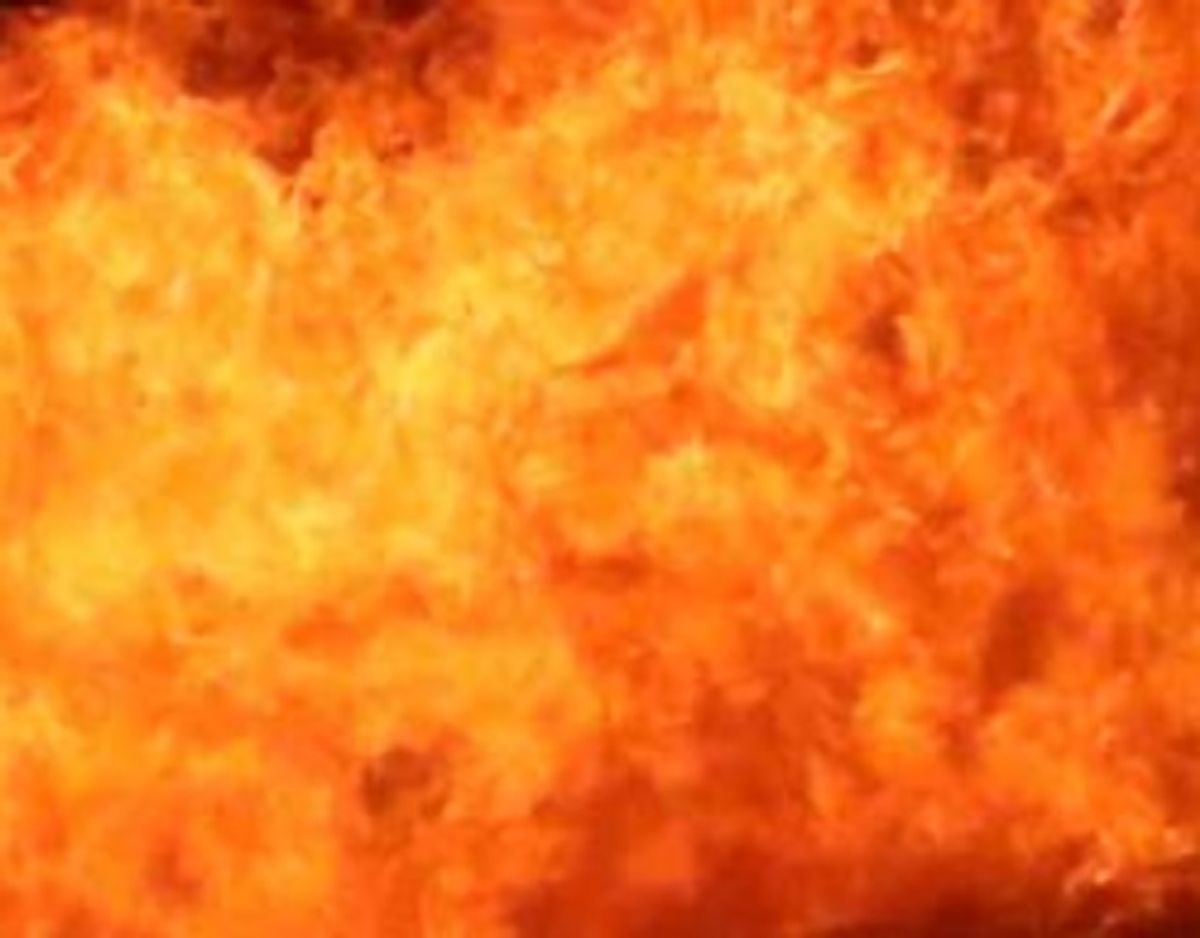 Der er brand i et bageri – et supermarked er blevet evakueret. KLIK for mere info. Foto: Øxenholt Foto.