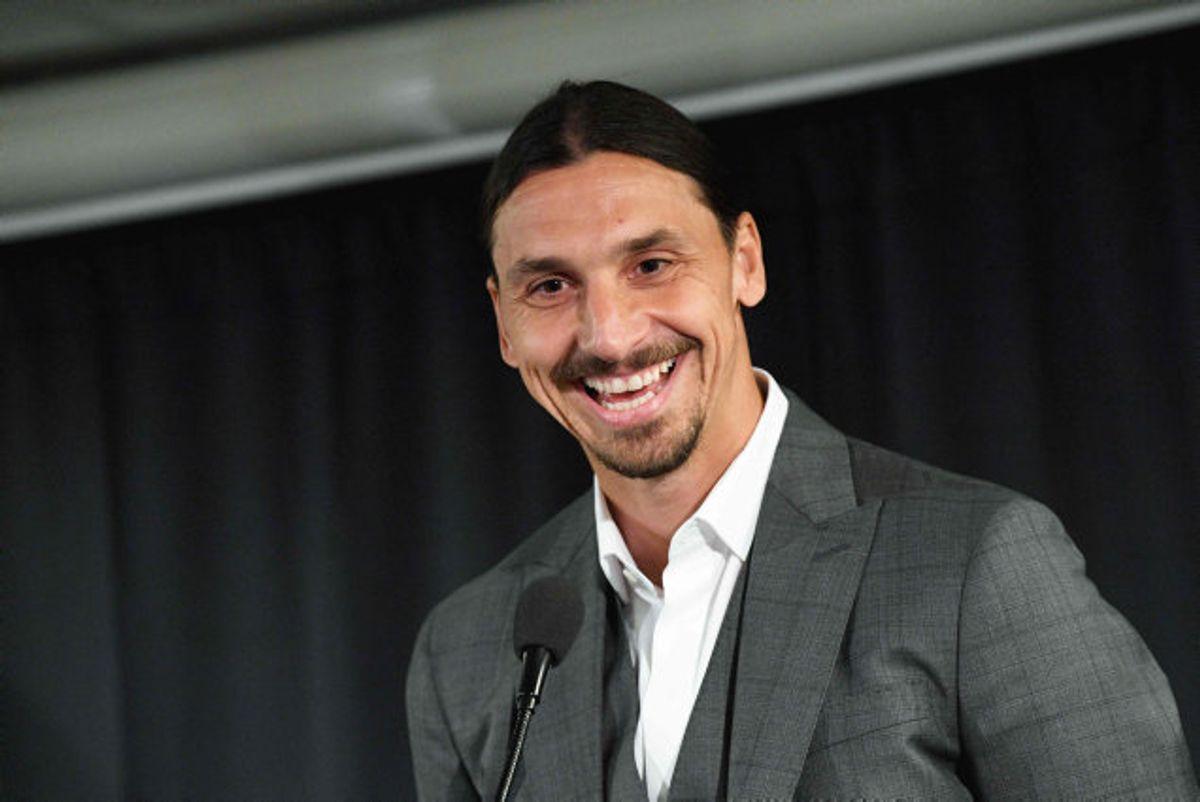 Zlatan Ibrahimovic har senest spillet for Los Angeles Galaxy. Foto: Johan Nilsson/AFP