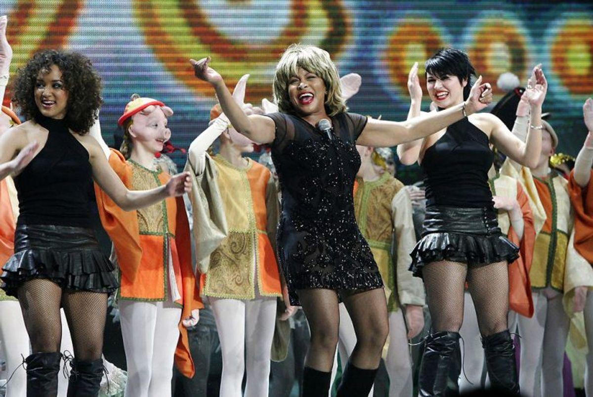 HCA – Once Upon A Time i Parken. Tina Turner optræder i Parken.
