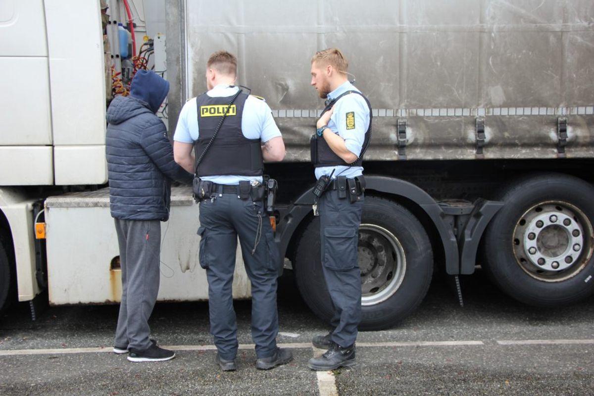 Modelfoto: Midt- og Vestsjællands Politi