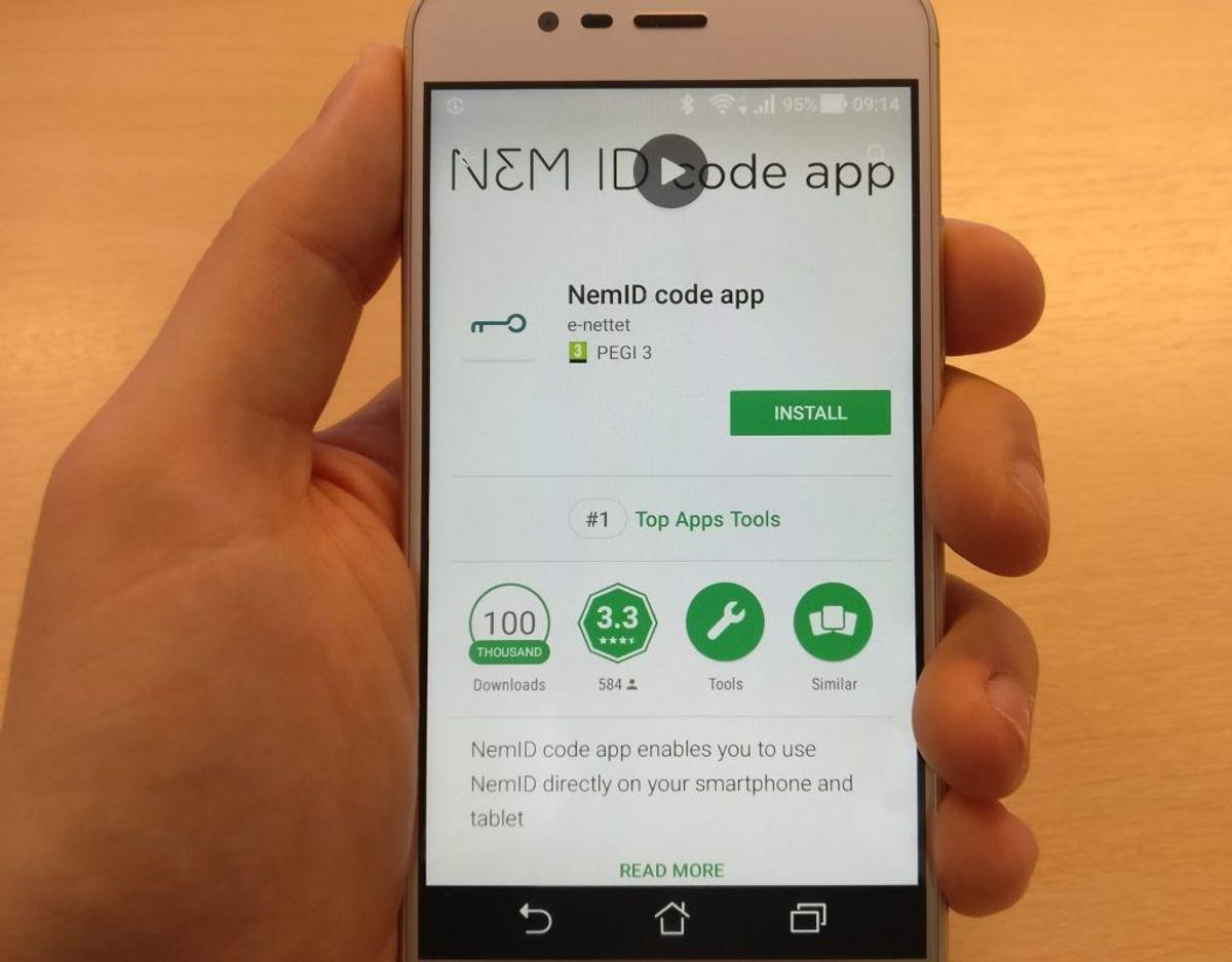 Sidst, men ikke mindst, er den app, som mange allerede har på telefonen, en mulighed. Foto: Privat.