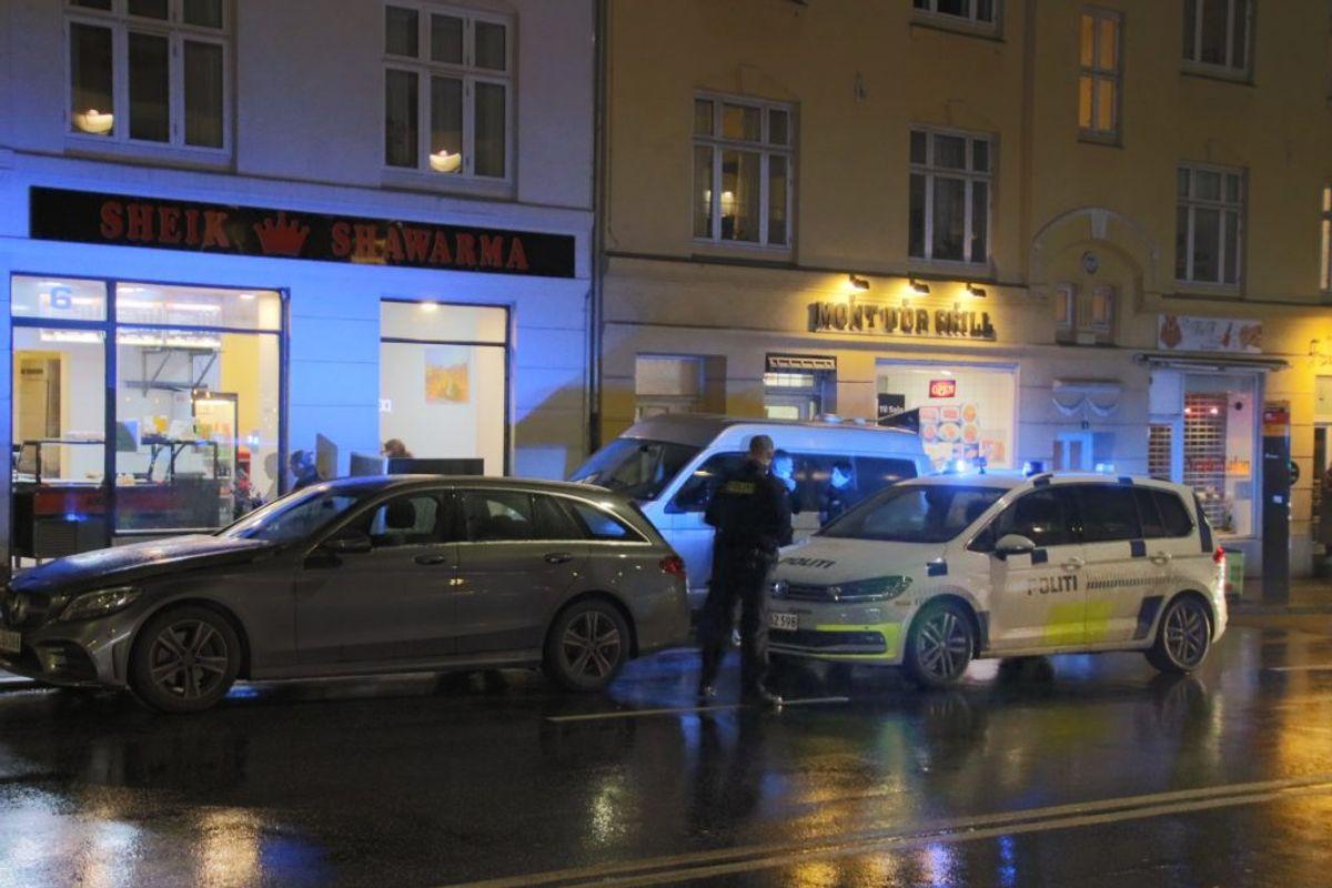 Politiet har fundet bilen. KLIK VIDERE FOR FLERE BILLEDER. Foto: Scanpix