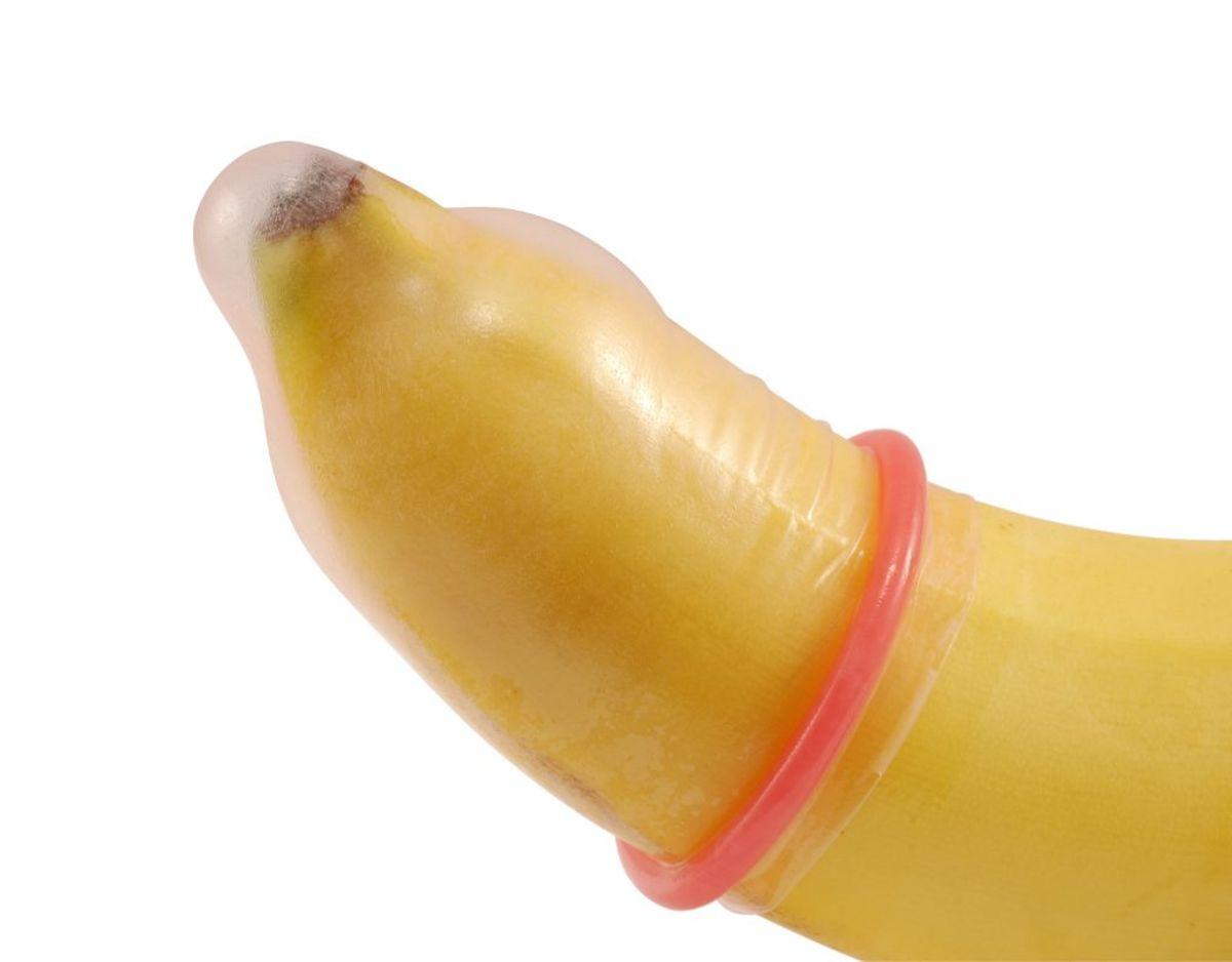 Brug kondom. Det hæmmer en smule af følsomheden. Genrefoto.