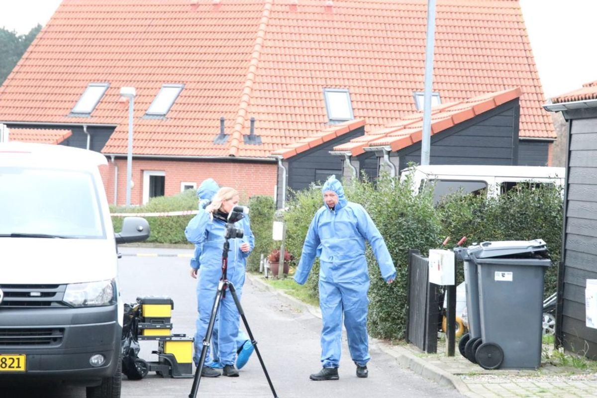Den anden kvinde blev fundet dræbt i Ruds Vedby, ligeledes på Sjælland. Foto: Presse-fotos.dk