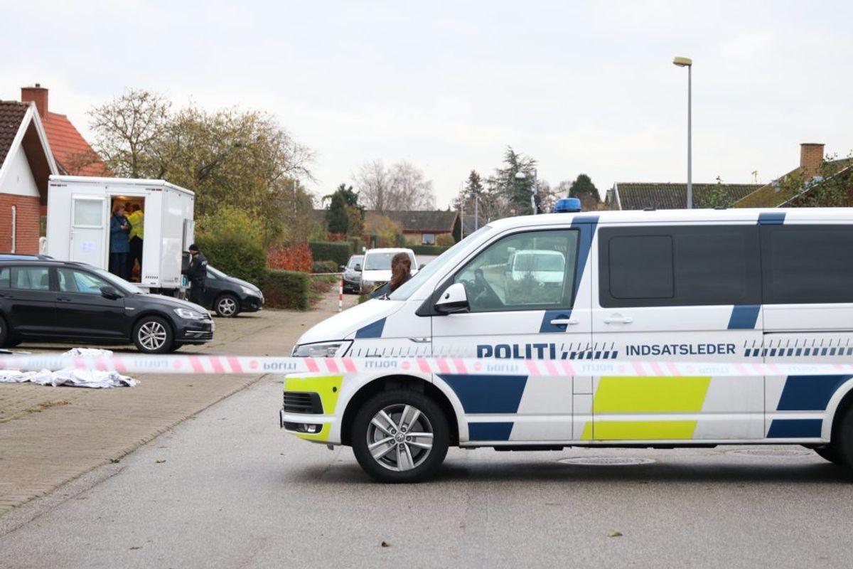 Den ene i Kundby på Sjælland. Foto: Presse-fotos.dk