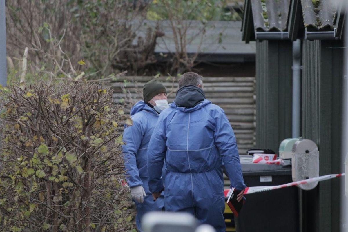 En mand er anholdt i sagen. Foto: Presse-fotos.dk