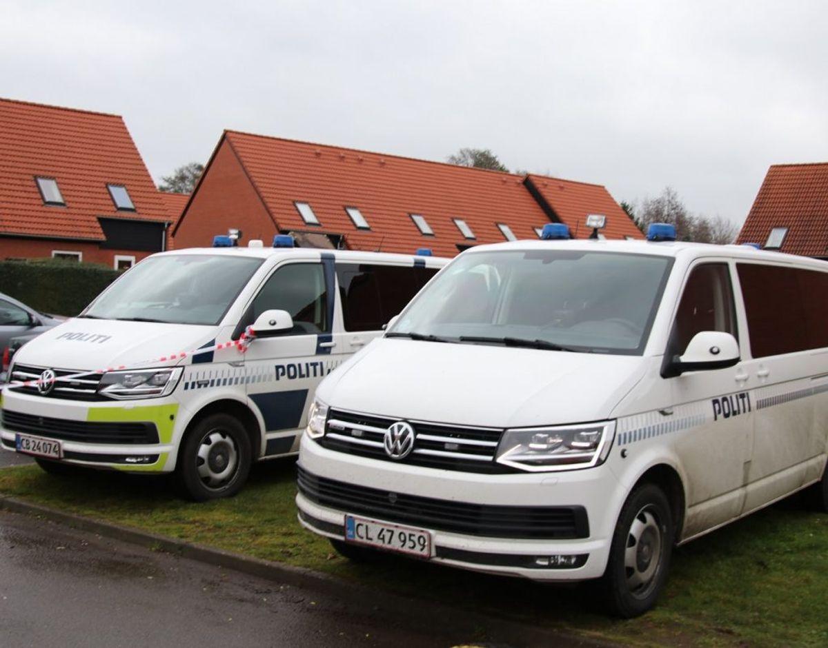 Efter politiets vurdering, er der sammenhæng mellem de to sager. Foto: Presse-fotos.dk.