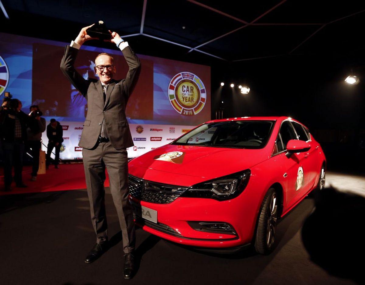19: Opel Astra – 263 solgte. Foto: Scanpix