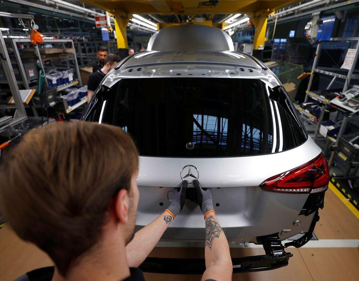 18: Mercedes Benz A-klasse – 265 solgte. Foto: Scanpix