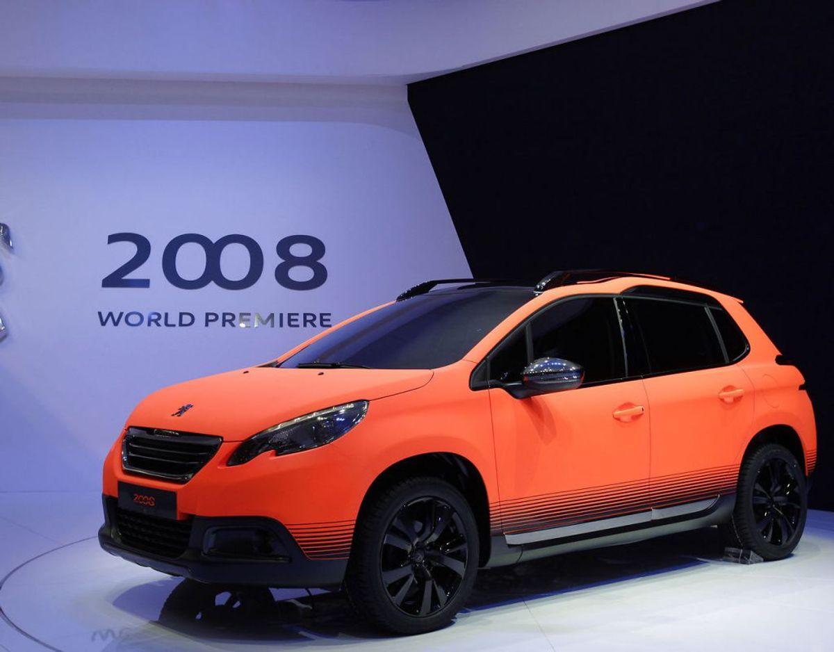 17: Peugeot 2008 – 280 solgte. Foto: Scanpix