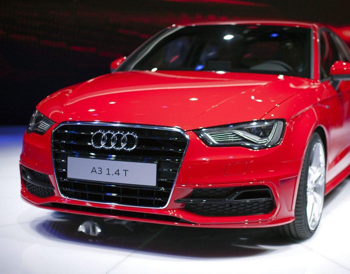 13: Audi A3 – 316 solgte. Foto: Scanpix