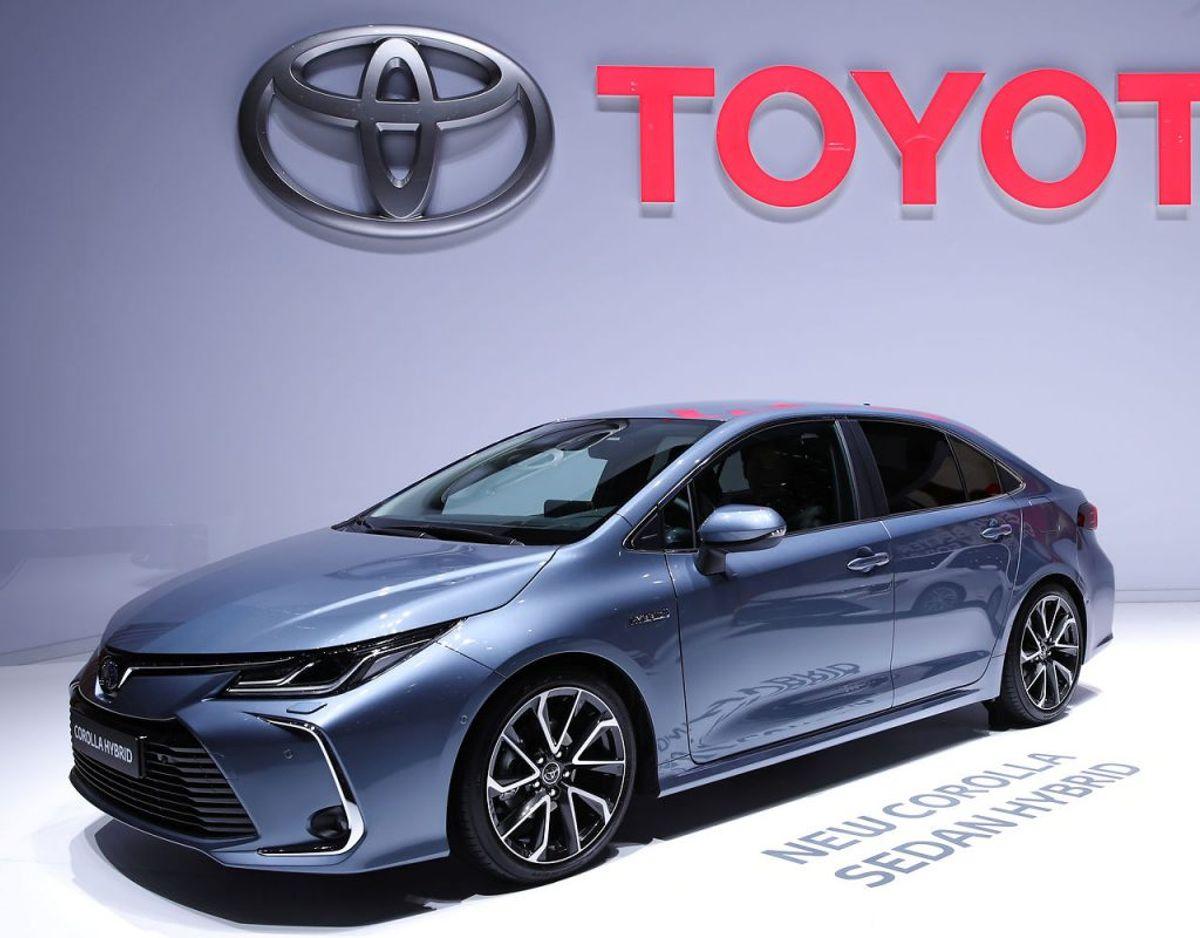9: Toyota Corolla – 364 solgte. Foto: Scanpix
