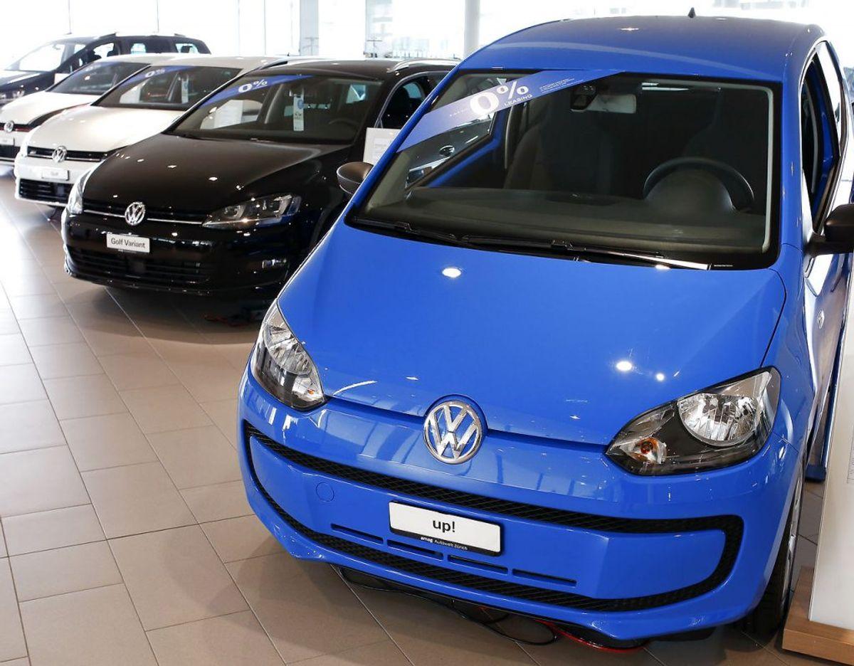 6: Volkswagen Up – 427 solgte. Foto: Scanpix