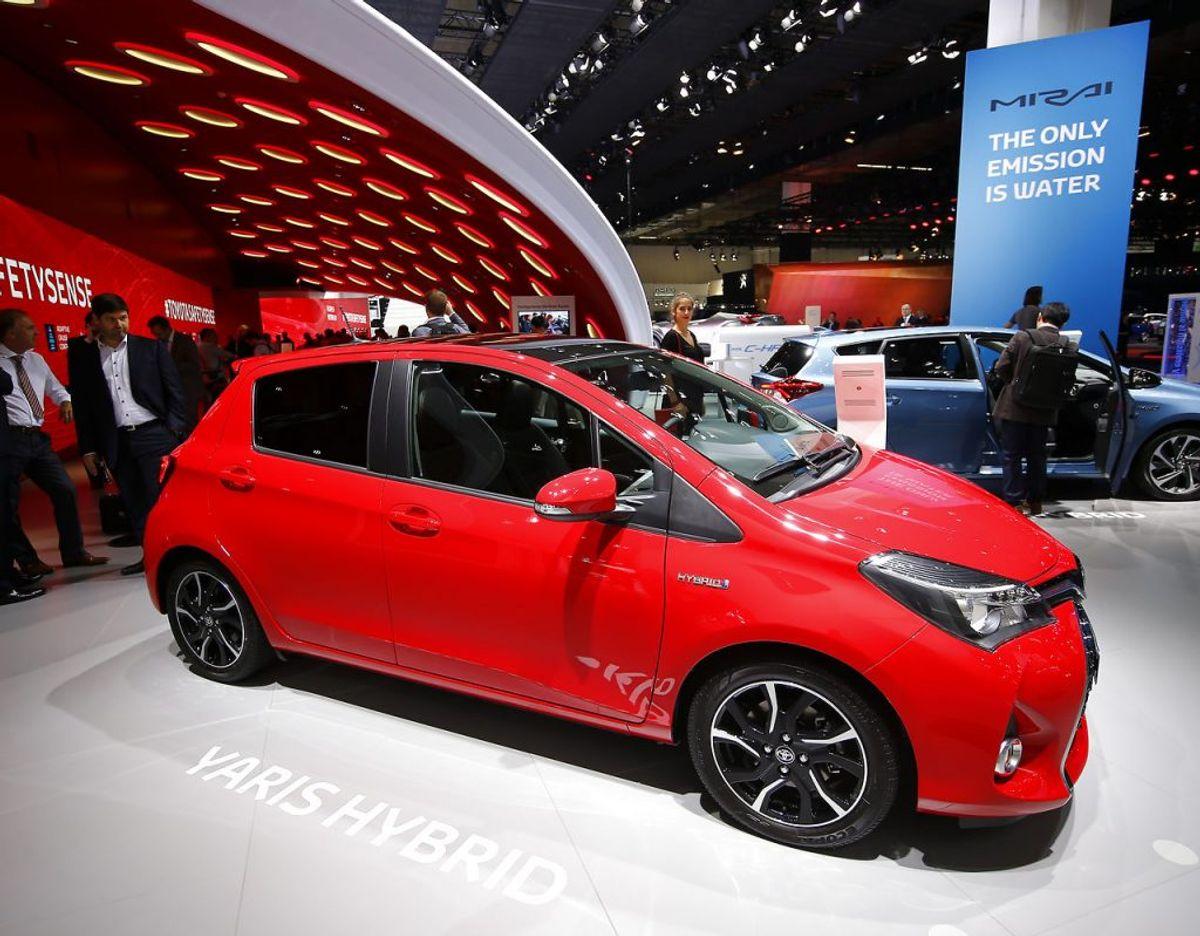 5: Toyota Yaris – 482 solgte. Foto: Scanpix