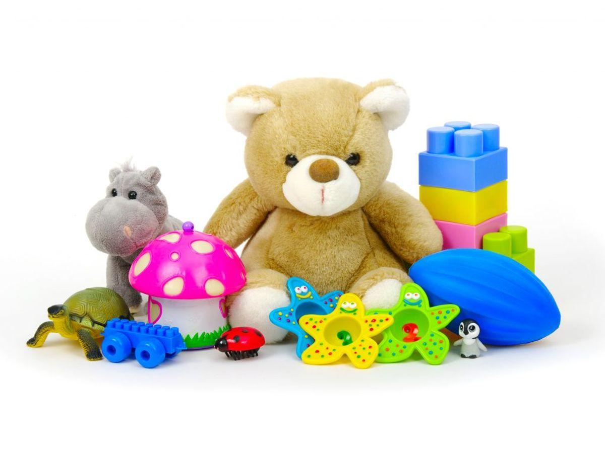 Legetøjet slipper både bakterier og savl efter en tur i opvaskeren.