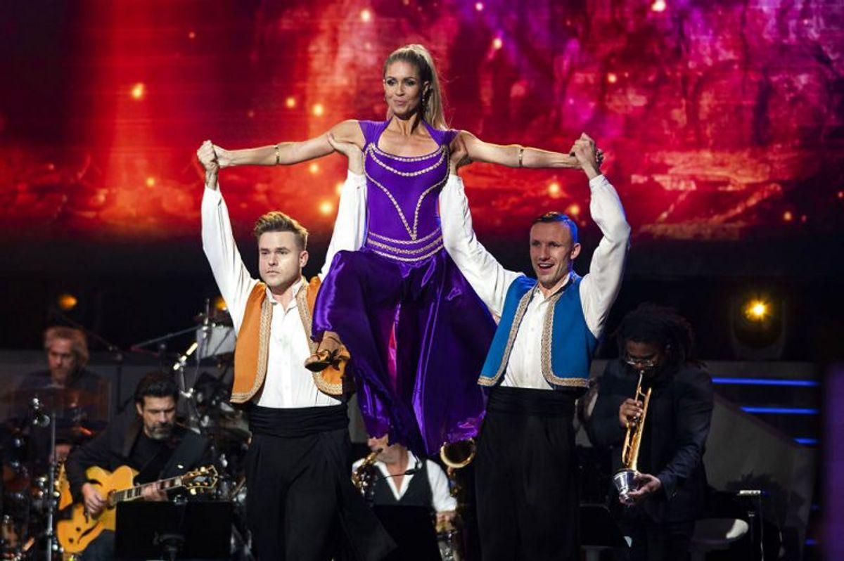 sendxnet Holdans A: Aladdin Vild med dans program 9, sæson 16 på TV2, fredag den 8. november 2019. (foto: Martin Sylvest/Ritzau Scanpix 2019)