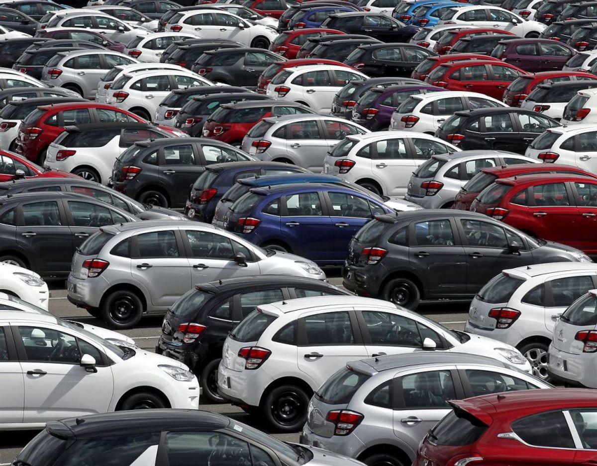 Der er godt gang i bilsalget. KLIK VIDERE og se, hvilke der bliver solgt flest af. Foto: Scanpix