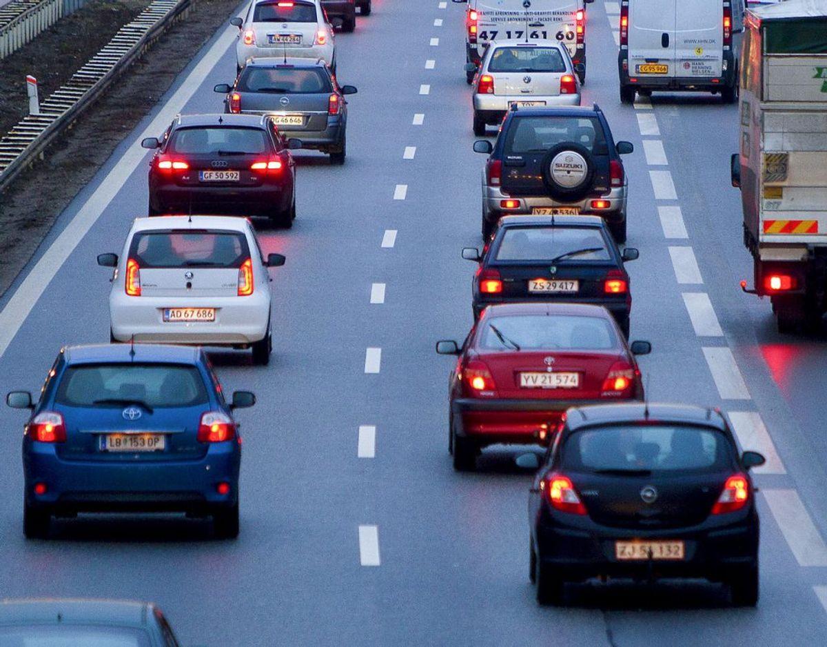 I Gladsaxe Kommune er borgerne voldsomt generet af støj fra motorvej. Det vil borgmesteren gerne lave om. Foto: Scanpix